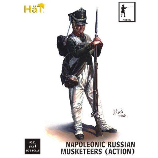 Infanterie russe en action (période napoléonienne)