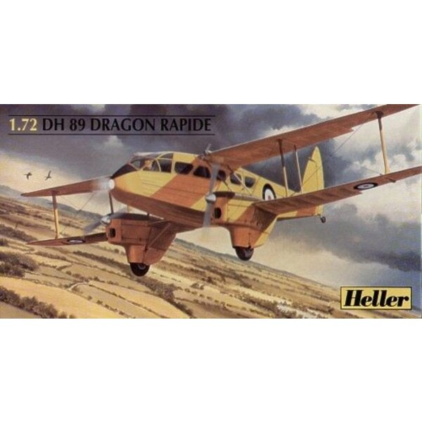 de Havilland DH 89 Dragon Rapide. Décalques RAF Observation School Staverton 1940 Air Couriers England 1937