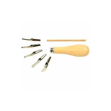 Plume lino Set, 5assortis CC Hobby CCH-38230