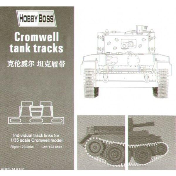 Cromwell avec chenilles en plastique injecté