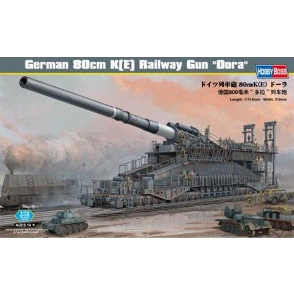 German 80cm K(E) Railway Gun ′Dora′