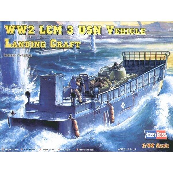 Péniche de débarquement LCM III USN