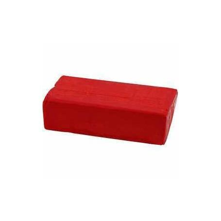 Pâte à modeler douce, dim. 13x6x4 cm, rouge, 500gr CC Hobby CCH-78682