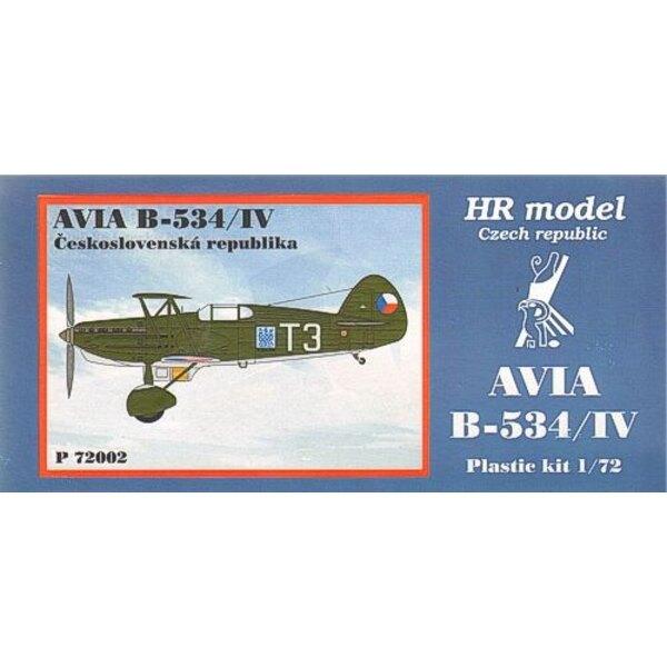 Avia B-534/IV. Décalques CSR avec pièces photodécoupées