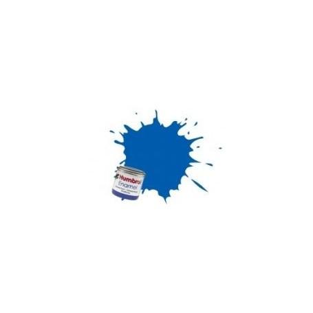 Émail Bleu français (French Blue enamel) - brillant Humbrol HU014