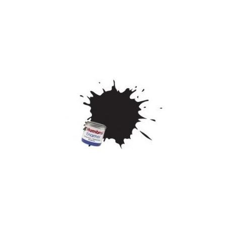 Noir brillant (Gloss Black) - brillant Humbrol HU021