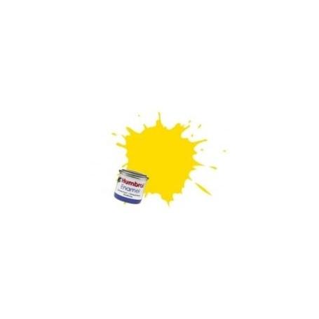 Émail Jaune (Yellow enamel) - brillant Humbrol HU069