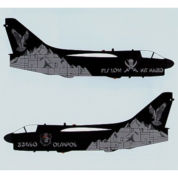 """336 Sqn Anniversary Vought A-7 Olympos"""""""""""