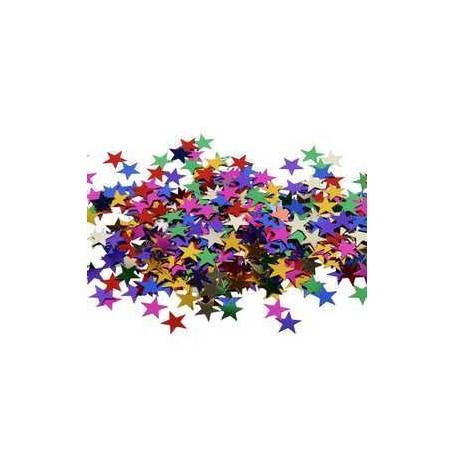Paillettes, dim. 10 mm, étoiles, 250gr CC Hobby CCH-99548