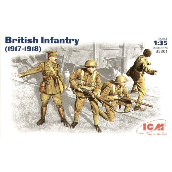 Infanterie britannique 1917-1918