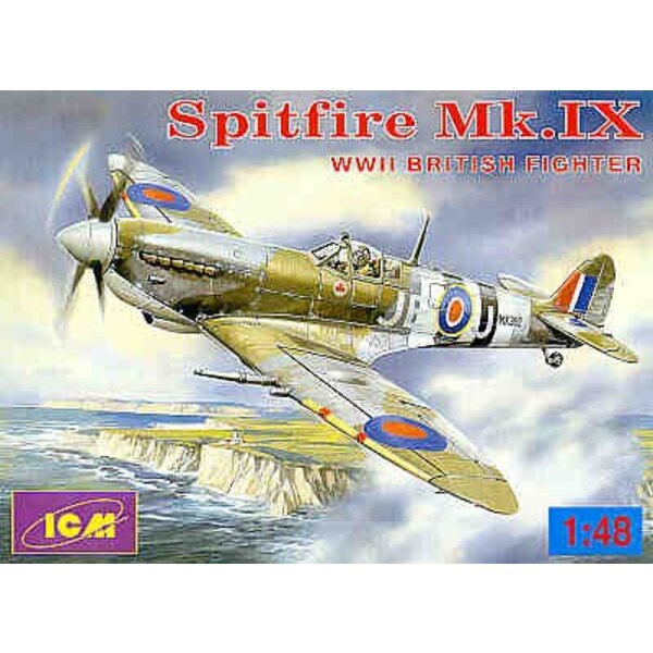 Supermarine Spitfire Mk.IX Chasseur britannique de la 2ème GM
