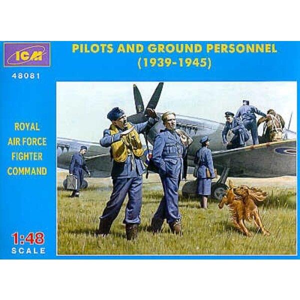 Pilotes de la RAF et personnel au sol 1939-1945