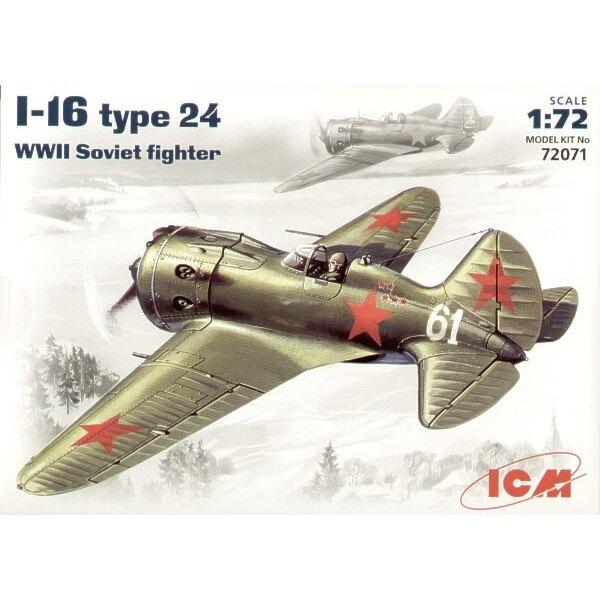 Polikarpov I-16 type 24 avec roues