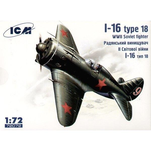 Polikarpov I-16 type 28 avec roues
