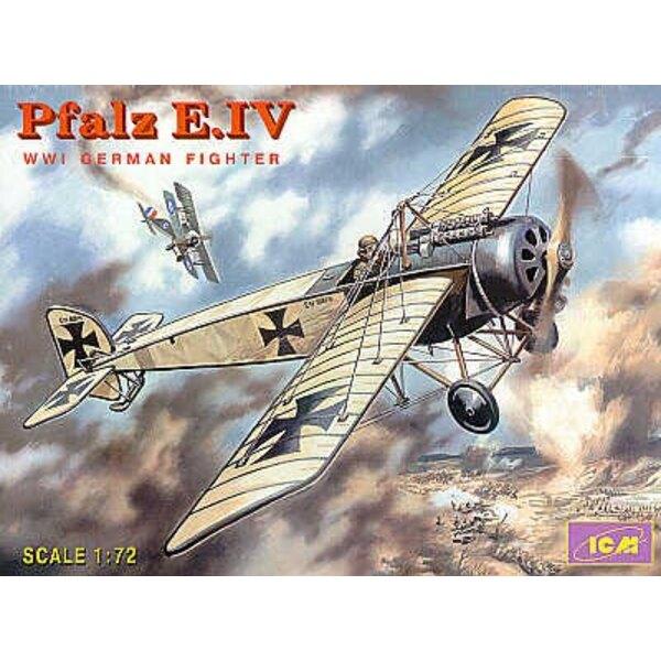 Pfalz E.IV : Chasseur Allemand de la 1ère GM