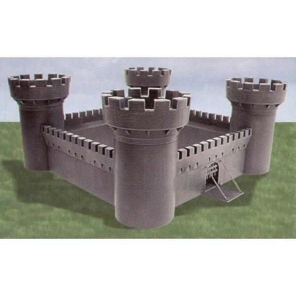 Château d'Ivanhoe - tours rondes