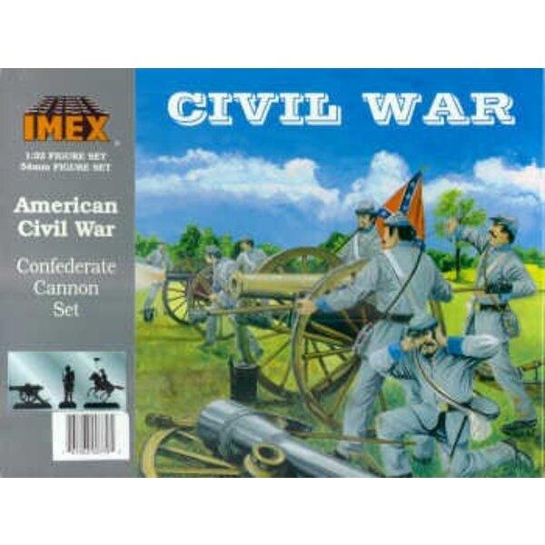 Confederate 6lb cannon (American Civil War) (ACW)