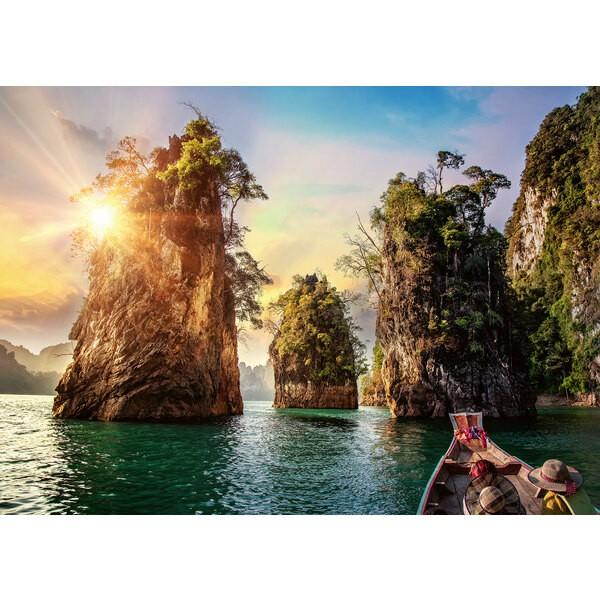 Puzzle Puzzle 1000 p - Lac de Cheow Lan, Thaïlande
