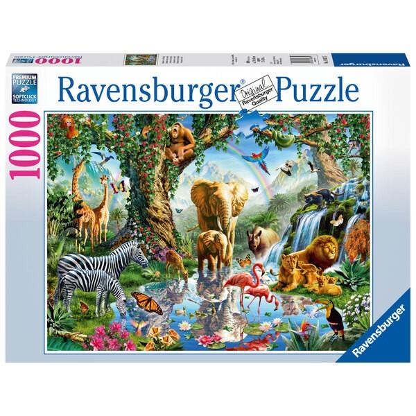 Puzzle Puzzle 1000 p - Aventures dans la jungle
