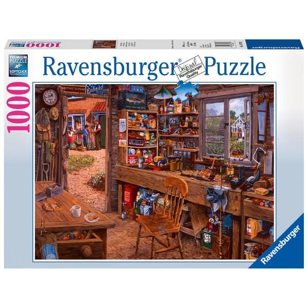 Puzzle Puzzle 1000 p - L'atelier de Papy