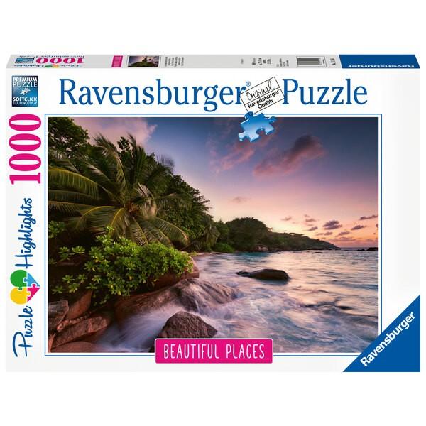 Puzzle Puzzle 1000 p - Ile de Praslin aux Seychelles (Puzzle Highlights)