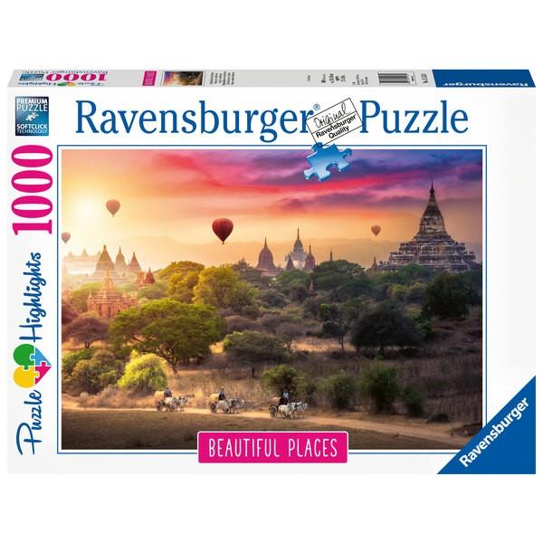 Puzzle Puzzle 1000 p - Montgolfières en Birmanie (Puzzle Highlights)