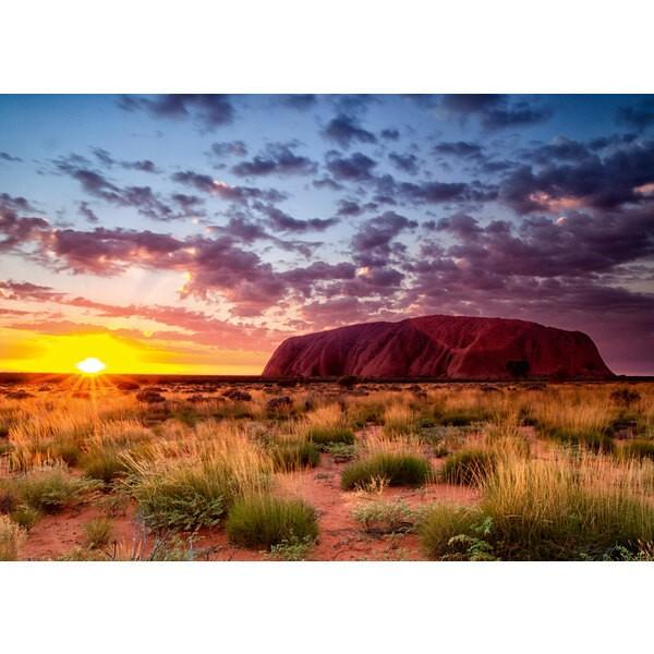 Puzzle Puzzle 1000 p - Ayers Rock en Australie (Puzzle Highlights)