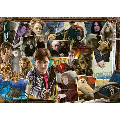 Puzzle 1000 p - Harry Potter contre Voldemort