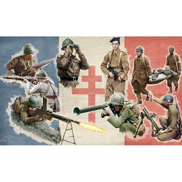 Infanterie FFL 2ème G.M.
