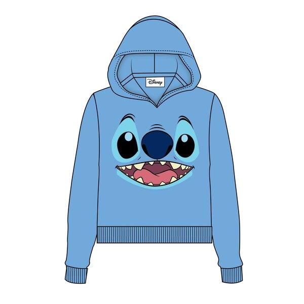 Lilo & Stitch Sweater à capuche femme Stitch Face