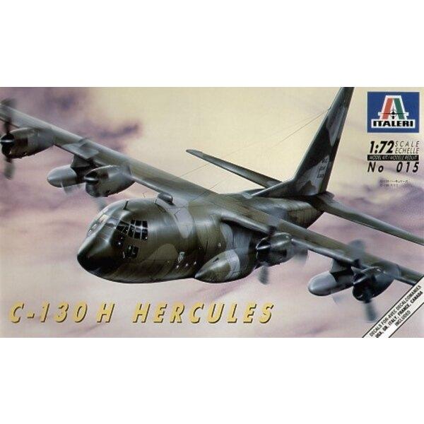 Lockheed C-130H Hercules. Decals for: USAF RAF Italy France Canada
