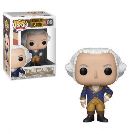 Histoire américaine POP!Icônes Figurine en vinyle George Washington 9 cm