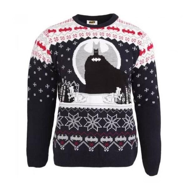Chandail de Noël Batman de DC Comics Sweater - Vous garder au chaud