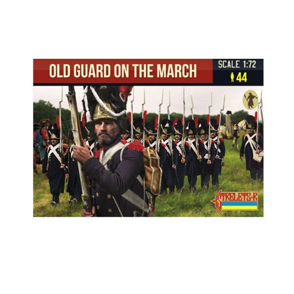 Vieille garde à la marche napoléonienne