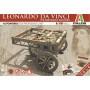 Chariot auto-mobile de Léonard De Vinci - Les Machines Merveilleuses Italeri IT3101