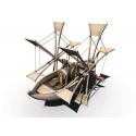 Bateau à pédales de Léonard De Vinci - Les Machines Merveilleuses