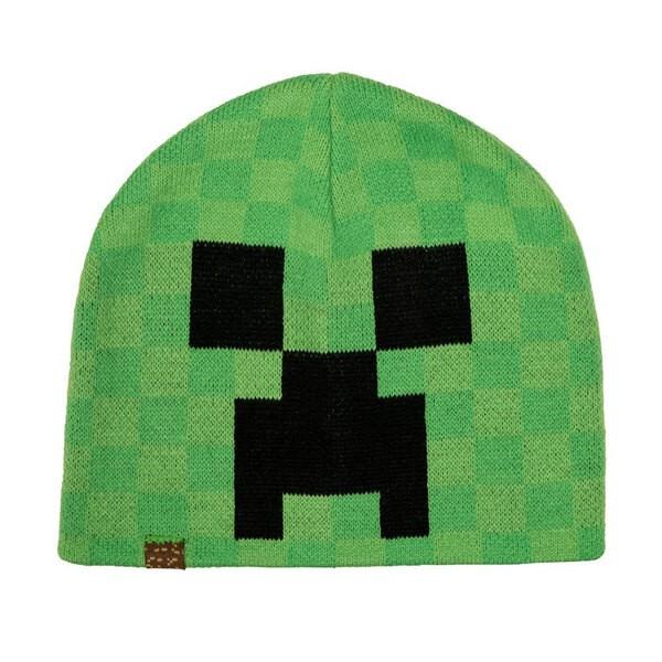 Visière de Creeper Bonnet Minecraft