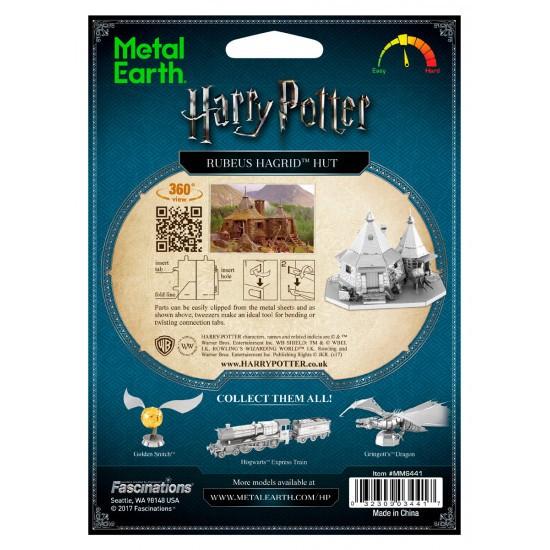 Hagrids Hütte Harry Potter Metal Earth