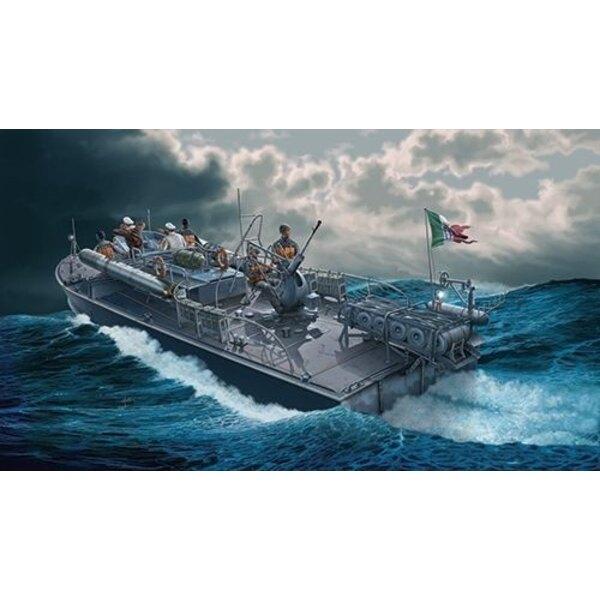 MAS 568 4a serie patrouilleur rapide italien. Les figurines d'équipage sont disponibles dans IT5611. Depuis la Première Guerre m