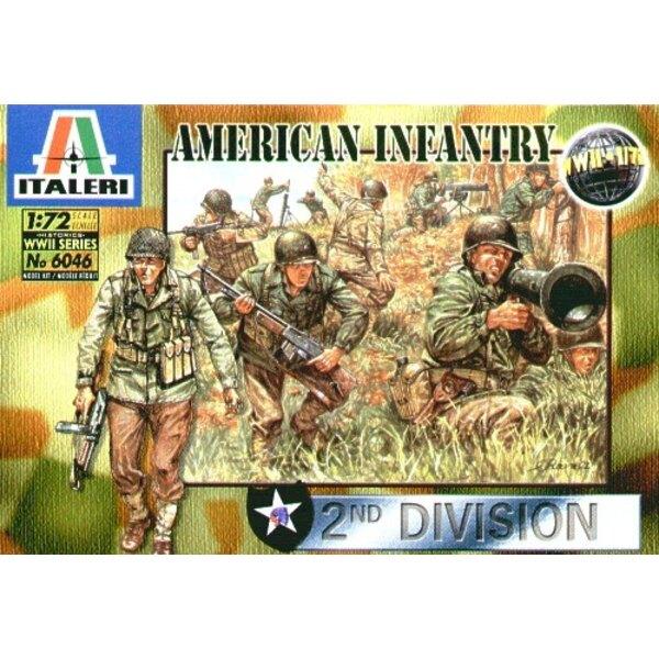 Infanterie américaine de la 2ème GM