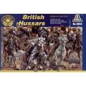 guerre de crimée : hussards britanniques