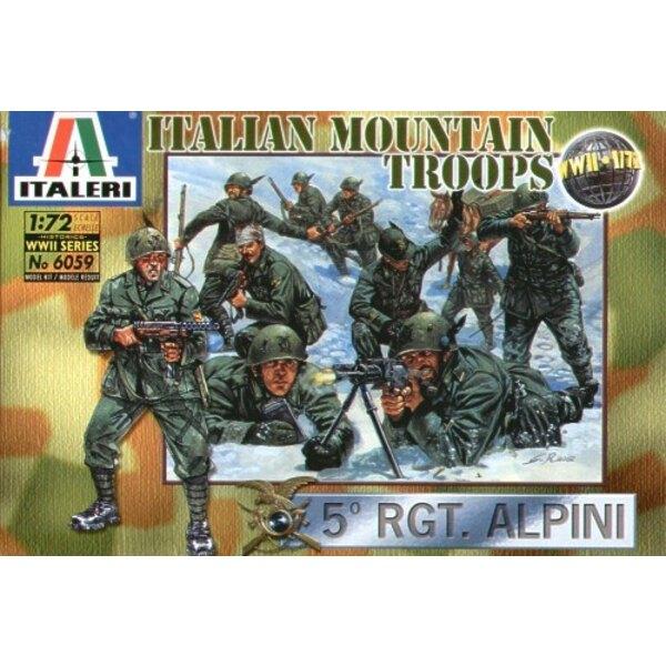 Troupes de montagne italiennes de la 2ème GM