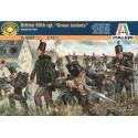 guerres napoléoniennes : green jackets britanniques