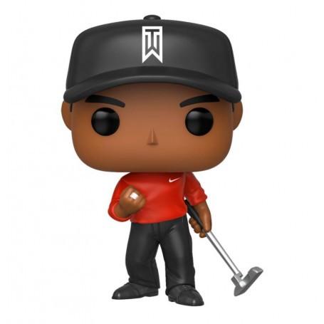 Tiger Woods POP! Golf Vinyl figurine Tiger Woods (Red Shirt) 9 cm