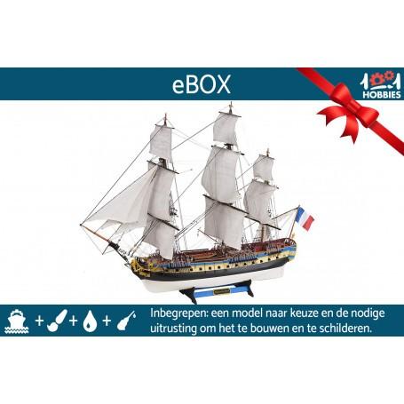 """e-Box """"Je construis ma maquette de bateau"""""""
