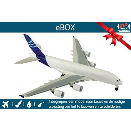 """e-Box """"Je construis ma maquette d'avion"""""""