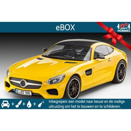 """e-Box """"Je construis ma maquette de voiture"""""""