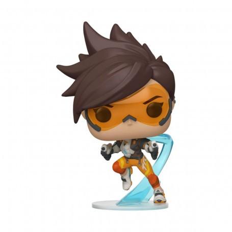 Overwatch POP!Jeux Figurine en vinyle Tracer 9 cm