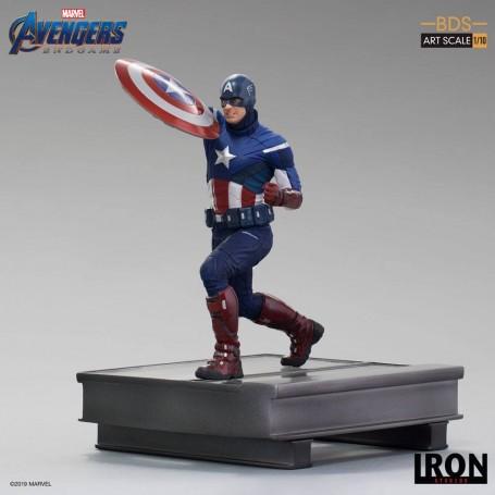 Avengers: Endgame statuette BDS Art Scale 1/10 Captain America 21 cm