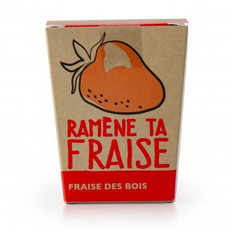 Kit message Ramène ta fraise - Fraisier Radis et Capucine RAD-29594